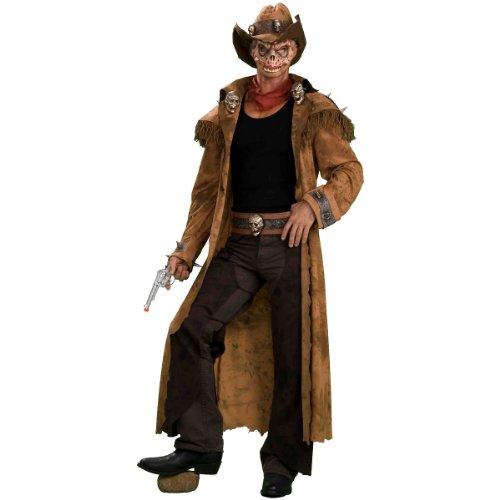 Zombie Gunslinger Adult Halloween Costume Size Standard