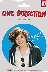 One Direction 1d - Vinyl Sticker Harry Size 35 In Diameter by Merchandiseonline