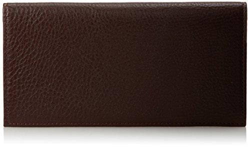 johnston-murphy-herren-leder-j-m-collection-checkbook-cover-wallet-braun-dunkelbraun