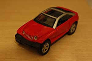 ASDA - Jeep Jeepster 4.7 H/D in Red - Scale Model