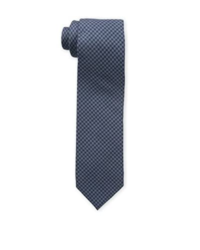 Bruno Piattelli Men's Slim Plaid Tie, Blue