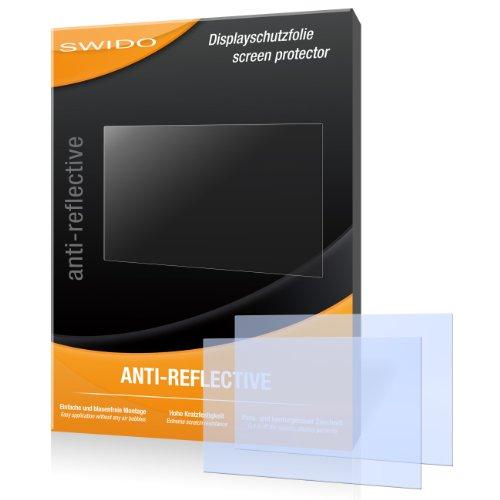 SWIDO X023176 anti-reflektierende hartbeschichtet Displayschutzfolie für Canon Powershot SX260 HS/SX260HS/SX-260 HS (2-er Pack)
