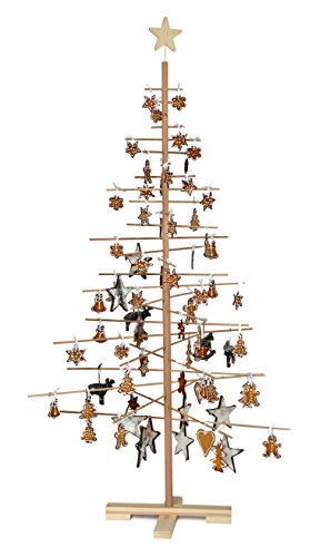 xmas3 SKU203 Assemble albero di Natale, Altezza 190 cm, 187,96 cm, Beige