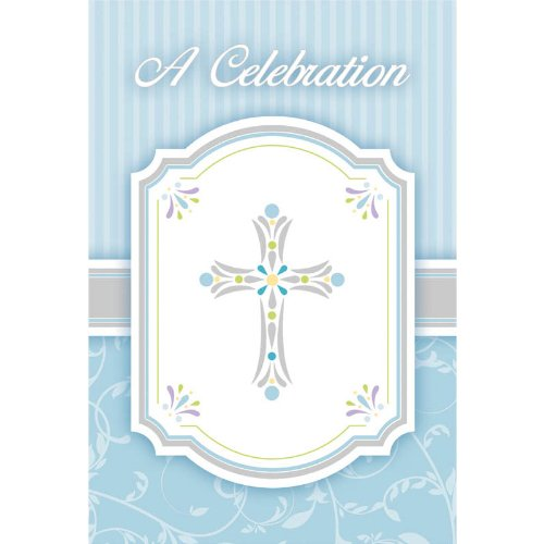 invitation value pack blessings blue