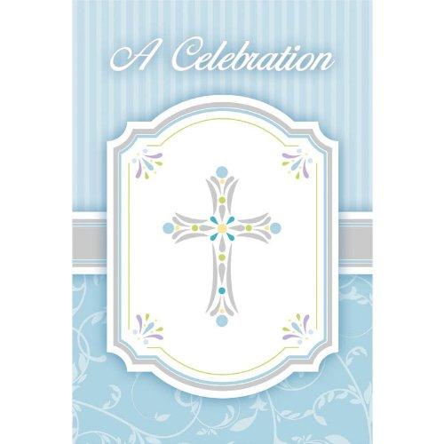 invitation value pack blessings blue