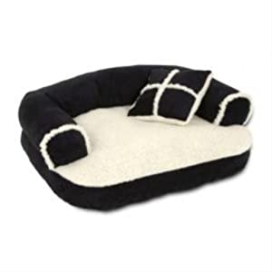 Dosckocil (Petmate) DDS28377 Sofa Dog Bed, 20 by 16-Inch- Random colors from Doskocil