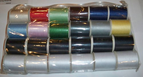 Purchase 24 Assorted Spools of Thread Full Size 200 Yards Each