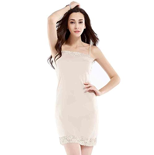 Baymate-Damen-Underwear-Mini-Unterkleid-mit-Trgern-Frauen-Unterrock-Nachthemd