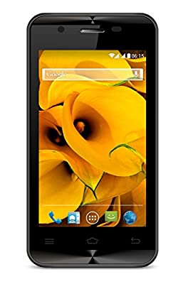 Karbonn A90 (Black and Silver, 512 MB)