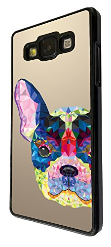 282 - Aztec Dog Face Design Für Alle Samsung Galaxy S3 / Galaxy S3 mini / Galaxy S4 /Galaxy S4 Mini / Galaxy S5 / Galaxy S5 Mini / Galaxy S6 / Galaxy S6 Edge / Samsung Galaxy A3 / Galaxy A5 / Samsung Galaxy Galaxy Alfa / Galaxy Ace 4 / Samsung Galaxy Grand Prime Fashion Trend Hülle Schutzhülle Case Cover Metall und Kunststoff - Bitte wählen Sie Ihr Telefonmodell und Farbe aus der Dropbox