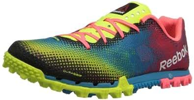 Reebok Women's All Terrain Sprint Running Shoe,Neon Yellow/Blue Bomb/Punch Pink/White,10 M US