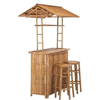 BUTLERS SUNDOWNER Bar mit 2 Hockern von BUTLERS bei Gartenmöbel von Du und Dein Garten