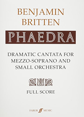 Phaedra: (Score) (Faber Edition)