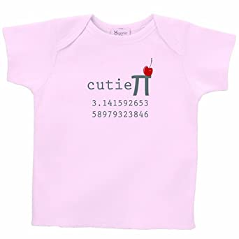 26 Degrees Forward Pink Organic Cotton Cutie Pi Toddler Tee, 2T