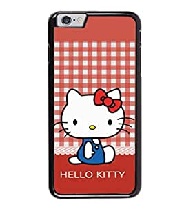 Printtech Kitty Cat Shockproof Back Case Cover for Apple iphone 6/6s