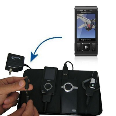 Unique Gomadic 4-Port Charging Station for the Sony Ericsson C905 - Charge four devices with TipExchange Technology