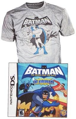 Batman: The Brave and the Bold - The Videogame (with T-Shirt)