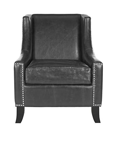 Safavieh Daniel Club Chair, Antique Black
