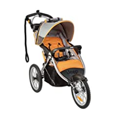 Buy Jeep Overland Limited Jogging Stroller with Front Fixed Wheel, Fierce with Mini Tool Box (fs)