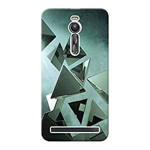 Mobile Back Cover For Asus Zenfone 2 ZE551ML (Printed Designer Case)