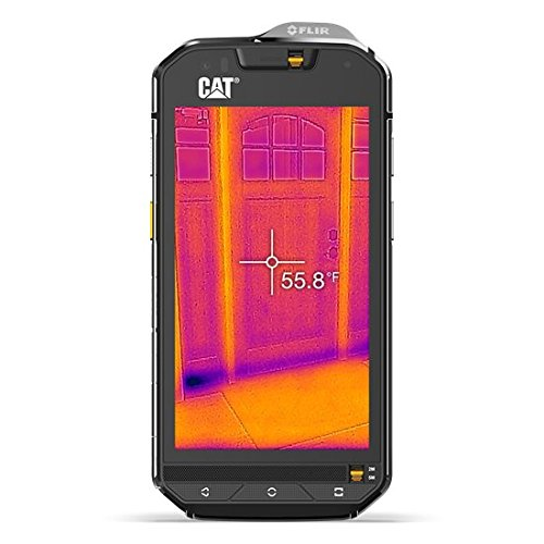 CAT S60 32GB 4G Negro, Plata - Smartphone (SIM doble, Android, NanoSIM, EDGE, GPRS, GSM, HSPA, HSPA+, UMTS, WCDMA, Micro-USB) width=