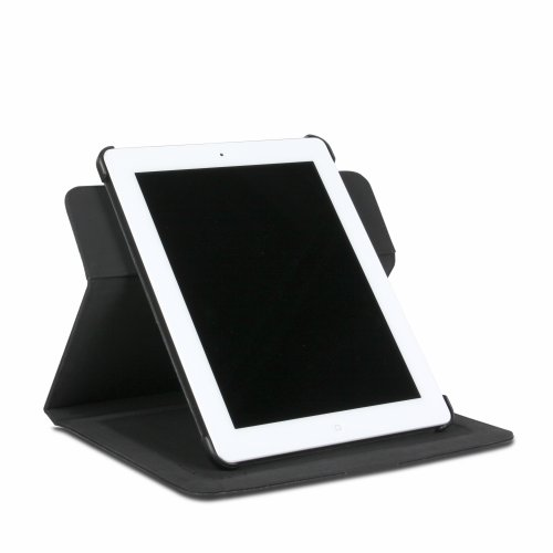 The Joy Factory Folio360 II Case/Stand Mount Compatible System with 360 Spin for iPad 2 - Black (AAD115)