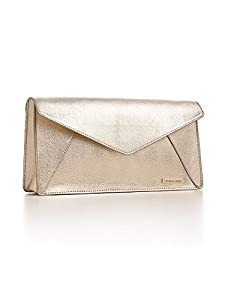 Victoria's Secret Gold Metallic Clutch Purse