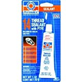 Permatex 80631 #14 Thread Sealant with Teflon - 1 oz. tube
