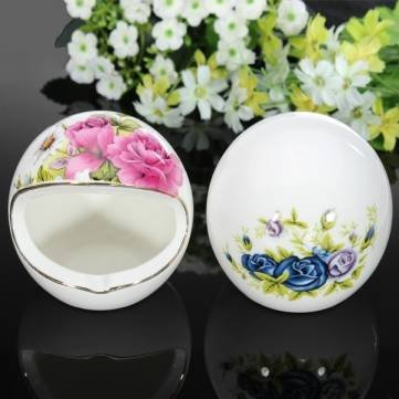 UR Home Decor Creative Personality Ceramic Ashtray Wedding Craft Home Decoration
