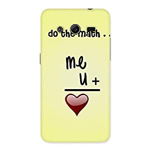 Special Love Maths Back Case Cover for Galaxy Core 2