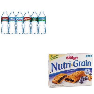 kitkeb35745nle101243plt-value-kit-nestle-bottled-spring-water-nle101243plt-and-kelloggs-nutri-grain-