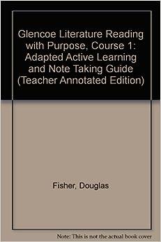 glencoe literature reading with purpose