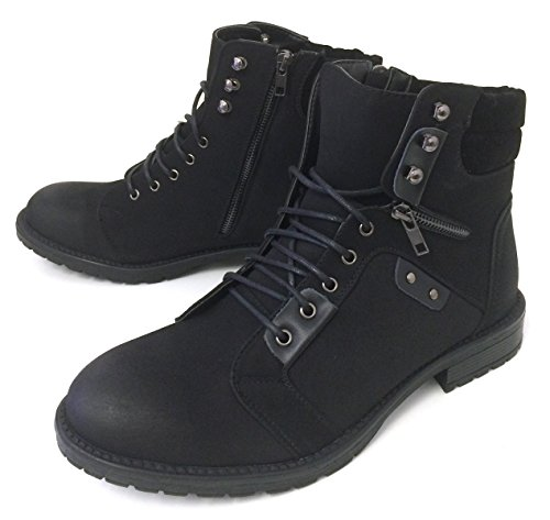 Shan-1 Men's Military Style Ankle Boots Combat Fashion Causa