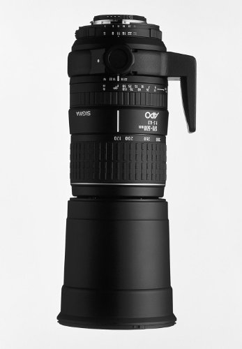 Sigma 170-500Mm F/5-6.3 Apo Aspherical Lens For Canon Slr Cameras