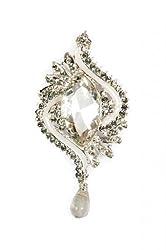 Syonaa brooch with crystals