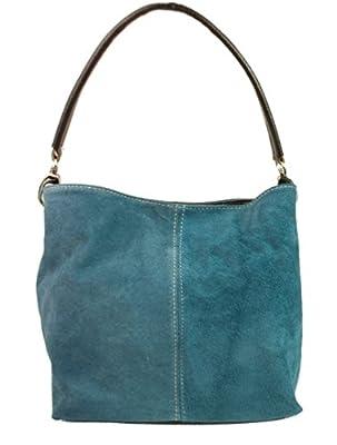 Girly HandBags New Genuine Suede Leather Handbag Shoulder Bag Tote Designer Elegant Women Collection by Girly HandBags