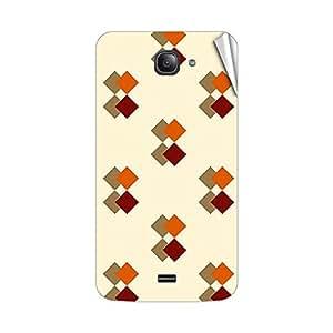 Garmor Designer Mobile Skin Sticker For Intex Aqua R3 - Mobile Sticker