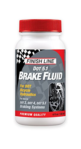 Finish Line High Performance DOT 5.1 Brake Fluid, 4-Ounce (Brake Fluid Dot 4 Low Viscosity compare prices)