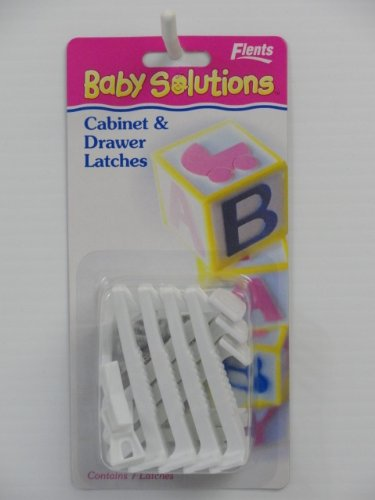 Flents Baby Solutions Cabinet & Drawer Latches - 7 Latches