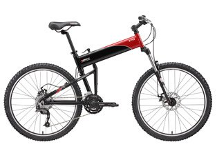 Swissbike X70 - Mountain Bike - 20 Inch - Black with Red Accent