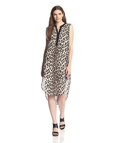 Acrobat Women's High-Low Dress with Contrast Placket