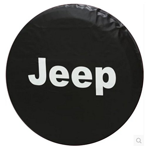 Tire Covers, Moonet Jeep Wrangler Black Spare Tire Cover (R 16) (Skull Jeep Spare Tire Cover compare prices)
