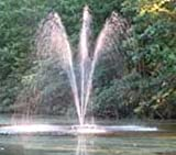Custom Pro FT 6000 Floating Pond & Lake Fountain w/ 100 ft cord
