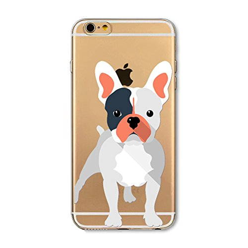 iPhone 5SE 5 5S Case ThePhoneCaseCo® Clear Premium iPhone 5 se Case TPU [Scratch Resistant) Cover Cases Apple iPhone 5s 5 se French Bulldog (Bulldog Iphone 5s compare prices)