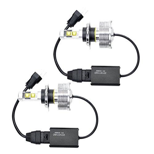 2Pcs 2014 High Low Beam 30W 6000Lm Xenon White 6000K Xm-L2 Cree Led Headlight Car Kit H4 9003 Hb2
