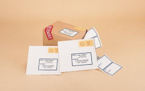 AVERY - T1731-500 - 2000 étiquettes d'ordinateurs adhésives. 120x74mm. imprimantes matricielles