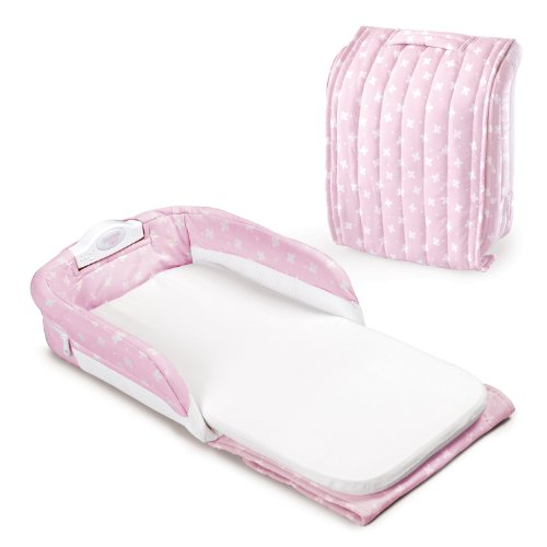 Baby Delight Snuggle Nest, Pink/White