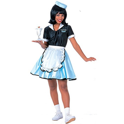 Car Hop Girl Costume for Adults