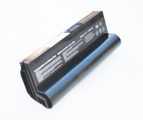 Replacement Netbook Battery for Asus Eee PC Laptop AL23-901/AL24-1000 1000H 870AAQ159571 Black