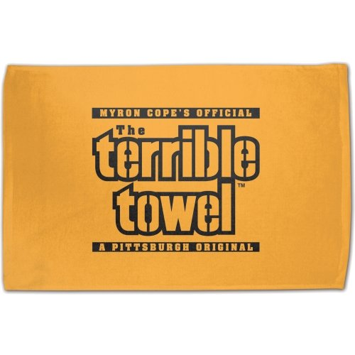 NFL Pittsburgh Steelers Original Terrible Towel, Gold from SteelerMania